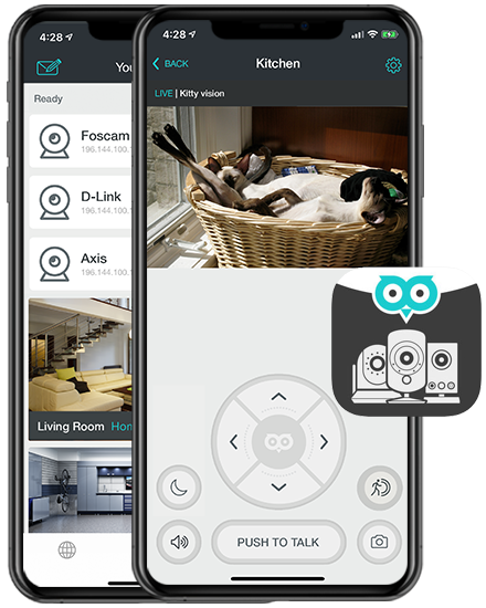 OWLR IP Camera Viewer for Foscam, DLink and Axis Cameras | OWLR